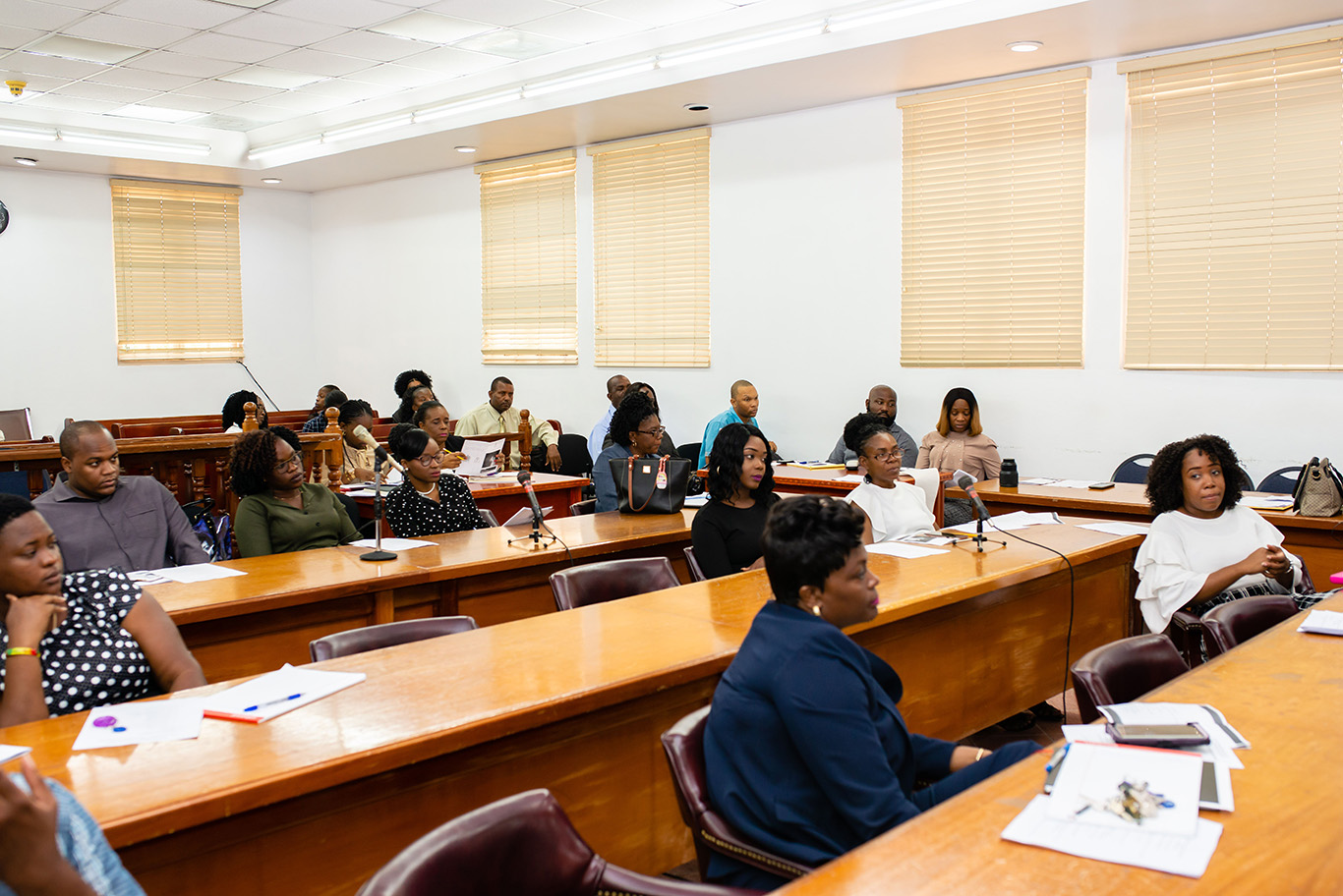 Training of St  Kitts and Nevis High Court Staff in Court